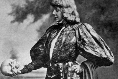Sara Bernhardt as hamlet_french